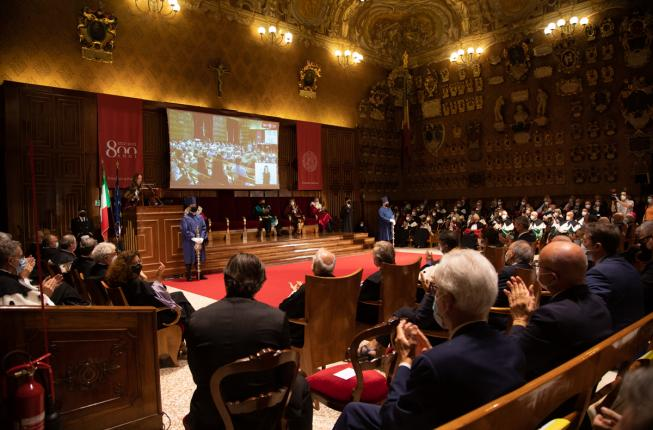 Collegamento a Celebrations for the University of Padua 800th anniversary begin