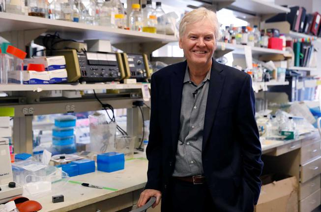 Collegamento a The Nobel laureate Michael W. Young is the first to be given a honorary research doctorate degree from the University of Padova