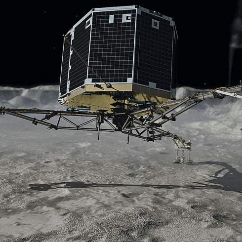 """They're not """"soft"""" like snow: Rosetta changes what we know about comets"""