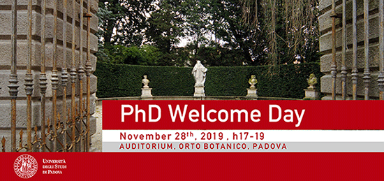 PhD Welcome Day on November 28th