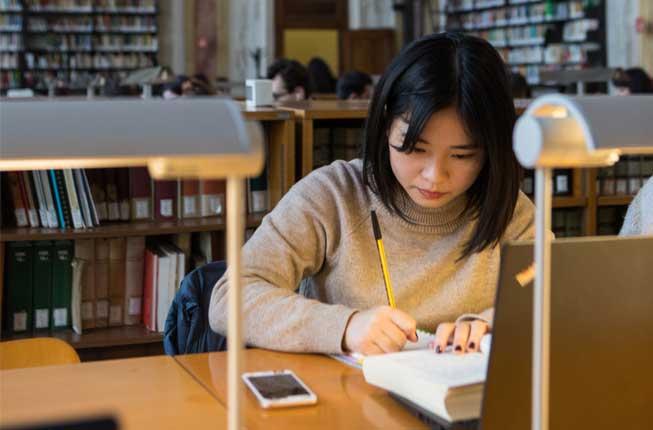 studentessa cinese