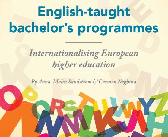 The publication English-taught bachelor's programmes: internationalising European higher education