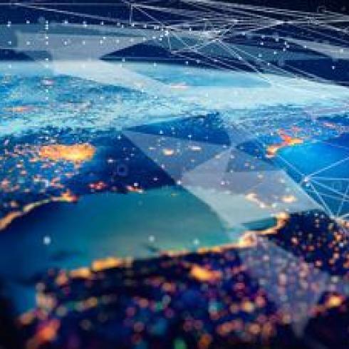 Quantum communications with nanosatellites and 5G protocols