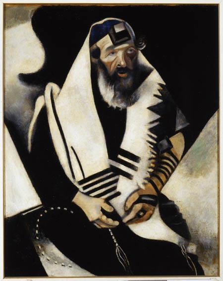 Venezia e gli ebrei: 500 anni di storia Chagall_rabbino2