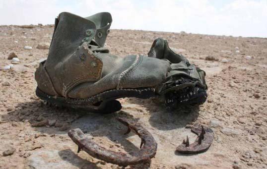 ritrovamenti durante gli scavi nel sito di El Alamein in Egitto