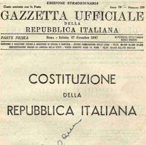costituzione