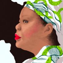 Leymah Gbowee disegno