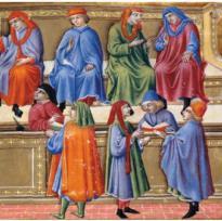 tribunale medioevo