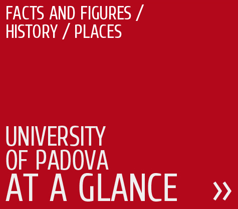 Facts and figures, history, places, University of Padova at a glance