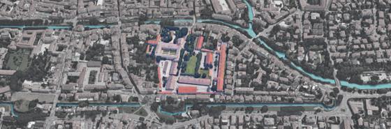 Foto aerea Caserma Piave