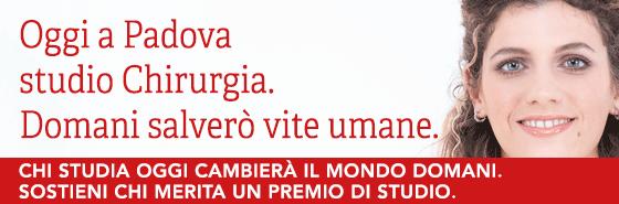 Oggi a Padova studio chirurgia, domani salverò vite umane