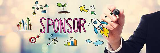 scritta sponsor
