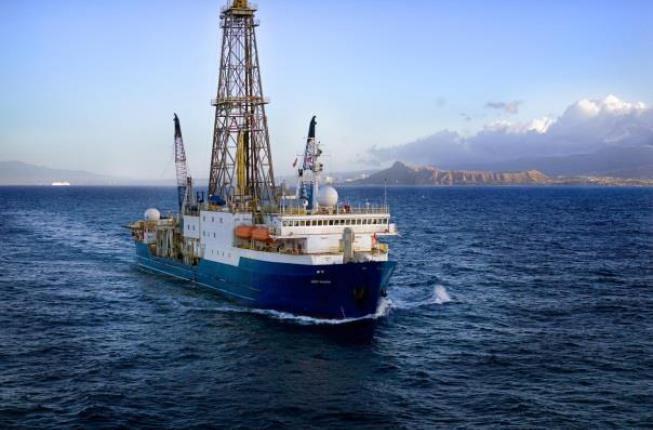 Collegamento a Studiare il paleoclima di 66 milioni di anni fa nel fondo dell'oceano