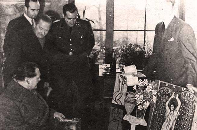 Collegamento a La restituzione dei beni d'arte spogliati agli ebrei: una ferita aperta