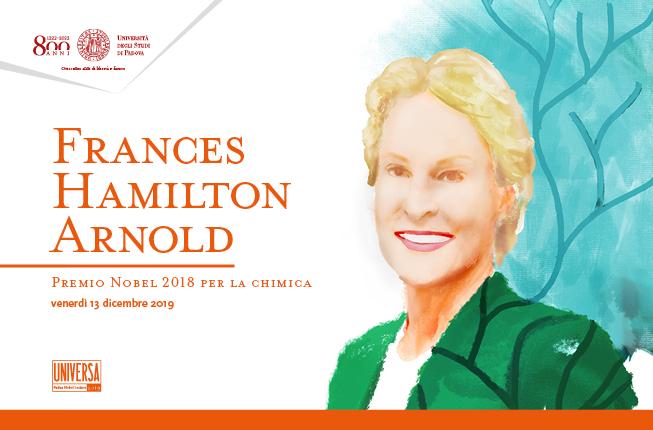 Collegamento a Dottorato ad honorem in Scienze molecolari alla Nobel Frances Arnold
