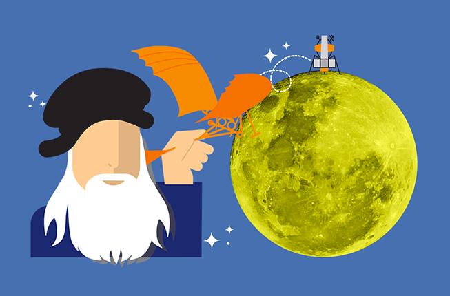 Collegamento a Dalla terra alla luna con il Cicap Fest