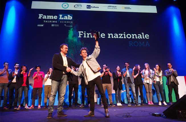 Collegamento a Da Padova a Roma: Riccardo Impavido è il vincitore di FameLab Italia