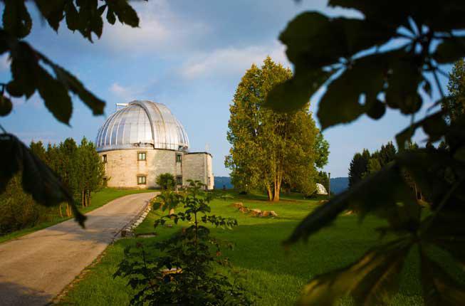 Collegamento a 75° Anniversario dell'Osservatorio astrofisico di Asiago