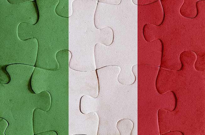 Collegamento a L'Italia: ieri, oggi e domani