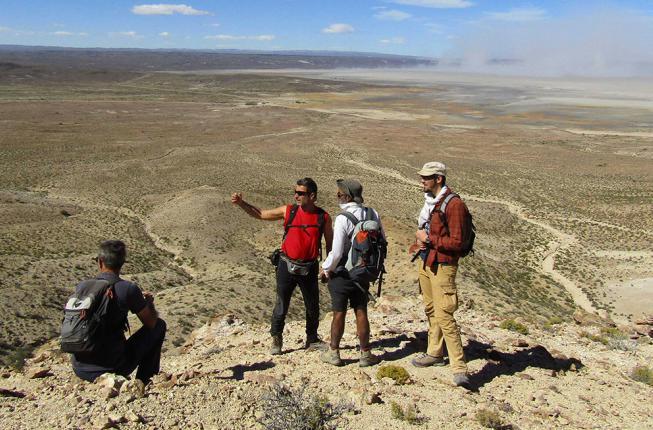 Collegamento a Da un granello di sabbia la storia delle Ande
