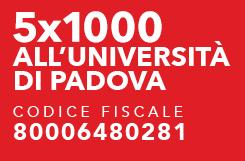 5x1000 all'Università di Padova - codice fiscale 80006480281