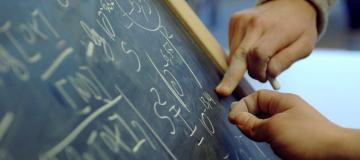 matematica alla lavagna